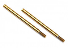 TRAXXAS запчасти Shock shaft, 3x47mm (GTS) (titanium nitride-coated) (2)