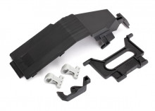 TRAXXAS запчасти Battery door: battery strap: retainers (2): latch