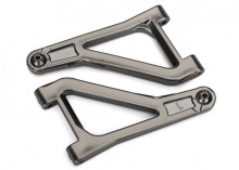 TRAXXAS запчасти Suspension arms, upper (left & right) (satin black chrome-plated) (assembled with hollow balls)