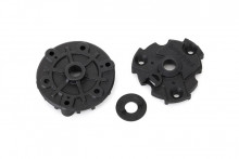 TRAXXAS запчасти Housing, cush drive (front & rear halves)