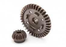 TRAXXAS запчасти  Ring gear, differential/ pinion gear, differential (rear)
