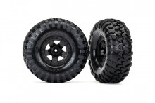 TRAXXAS запчасти TRX-4 Sport wheels + Canyon Trail 2.2 tires