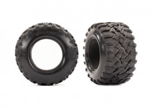 "TRAXXAS запчасти  Tires, Maxx® All-Terrain 2.8"" (2)/ foam inserts (2)"