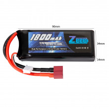 Zeee Power 2s 7.4v 1800mah 45c SOFT