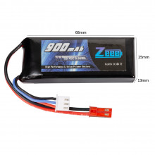 Zeee Power 2s 7.4v 900mah 45c SOFT