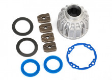 TRAXXAS запчасти Carrier, differential, aluminum (front or center): x-ring gaskets (2), ring gear gasket: 14.5x20 TW (2)