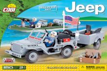 COBI Jeep Willys MB Navy