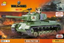 COBI Танк М46 Patton (Паттон) серия World of Tanks