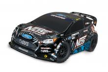 TRAXXAS Rally Ford Fiesta ST 1/10 4WD NOS 38 Deegan