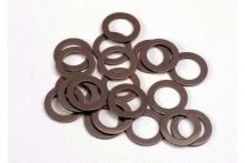 TRAXXAS запчасти PTFE-coated washers, 5x8x0.5mm (20) (use with ball bearings)