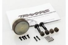 TRAXXAS запчасти Planetary gear differential with steel ring gear (complete) (fits Bandit, Stampede, Rustler)
