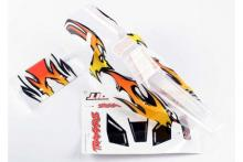 TRAXXAS запчасти Body, Bandit, ProGraphix (replacement for painted body. Graphics are painted- requires paint and fin