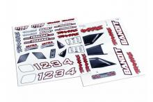 TRAXXAS запчасти Decal sheet, Bandit