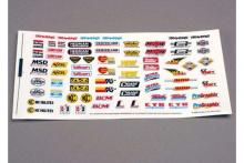 TRAXXAS запчасти Decal sheet, racing sponsors