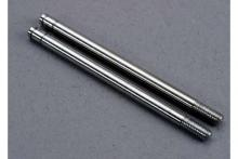 TRAXXAS запчасти Shock shafts, steel, chrome finish (X-long) (2)