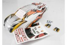 TRAXXAS запчасти Body, Rustler, ProGraphix (replacement for the painted body. Graphics are printed, requires paint &a