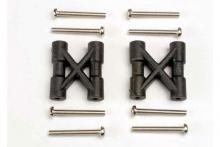 TRAXXAS запчасти Bulkhead cross braces (2): 3x25mm CS screws (8)