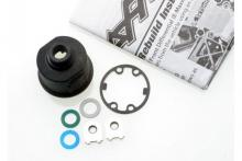 TRAXXAS запчасти Carrier, differential (heavy duty): x-ring gaskets (2): ring gear gasket: bushings (2): 6x10x0.5 TW