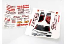 TRAXXAS запчасти Decal sheets, Nitro Stampede