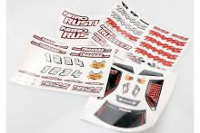 TRAXXAS запчасти Decal sheets, Nitro Rustler