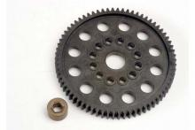 TRAXXAS запчасти Spur gear (70-Tooth) (32-Pitch) w:bushing