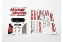TRAXXAS запчасти Decal sheets, Nitro Sport