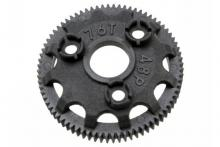 TRAXXAS запчасти Spur gear, 76-tooth (48-pitch) (for models with Torque-Control slipper clutch)