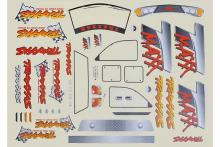 TRAXXAS запчасти Decal sheet, T-Maxx (use with 4911X body)