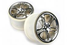 TRAXXAS запчасти SS (split spoke) chrome 3.8 Revo:Maxx
