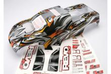 TRAXXAS запчасти Body, Revo 3.3 (extended chassis), ProGraphix (replacement for painted body. Graphics are painted- r