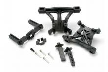 TRAXXAS запчасти Body mounts, front & rear: body mount posts, front & rear: 2.5x18mm screw pins (4): 4x10mm B