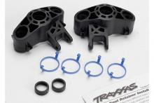 TRAXXAS запчасти Axle carriers, left & right (1 each) (use with larger 6x13mm ball bearings): bearing adapters (f