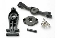 TRAXXAS запчасти Steering arm (upper & lower): servo saver: servo saver spring: steering arm shaft