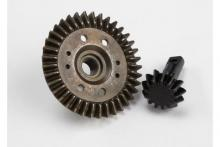 TRAXXAS запчасти Ring gear, differential/ pinion gear, differential