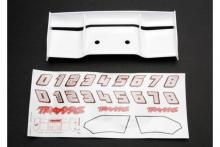 TRAXXAS запчасти Wing, Revo (white): decal sheet