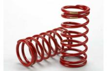 TRAXXAS запчасти Spring, shock (red) (GTR) (3.8 rate gold) (1 pair)