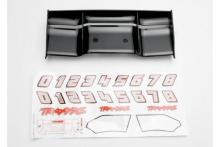 TRAXXAS запчасти Wing, Revo (black): decal sheet
