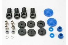 TRAXXAS запчасти Rebuild kit, GTR shock (x-rings, bump stops, bladders, all pistons, piston nuts, shock rod ends) ren