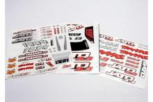 TRAXXAS запчасти Decal sheet, Jato 3.3