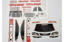 TRAXXAS запчасти Decal sheets, E-Revo