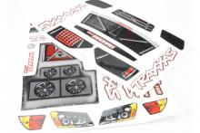 TRAXXAS запчасти Decal Sheet, Slash
