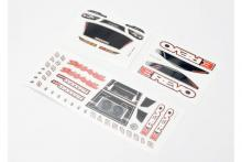 TRAXXAS запчасти Decal sheets, 1/16 E-Revo