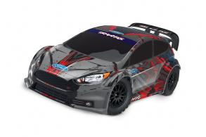 TRAXXAS Rally Ford Fiesta ST 1:10 4WD