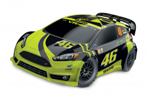TRAXXAS Rally Ford Fiesta ST 1:10 4WD VR46