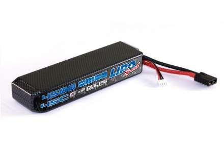 Team Orion Batteries 11.1V 4500mAh 45C LiPo Hardcase TRX plug