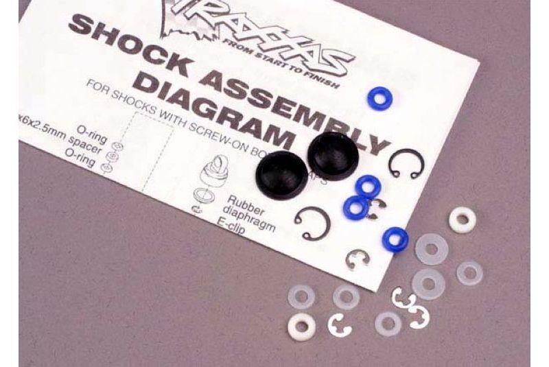 Крепеж для радиоуправляемых моделей TRAXXAS Rebuild kit, Ultra shocks (for 2 shocks