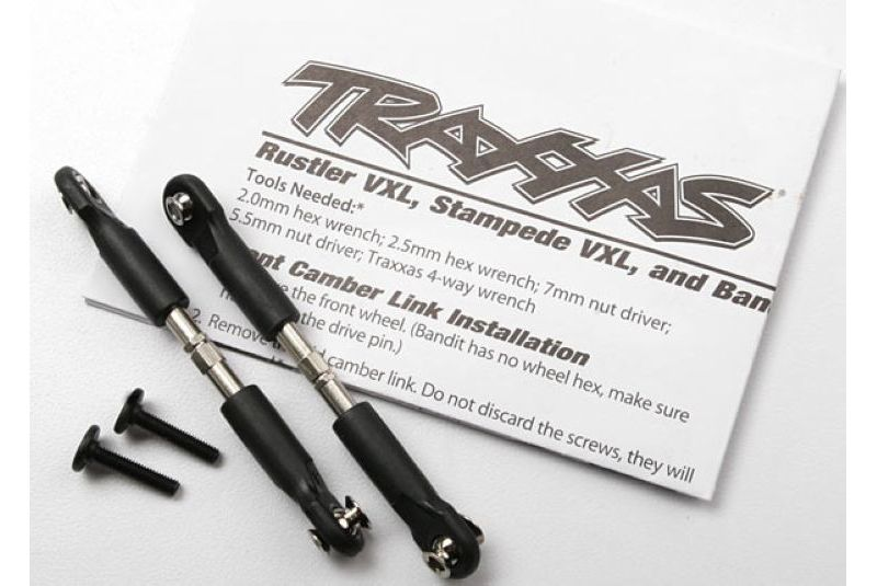 Запчасти для радиоуправляемых моделей Traxxas TRAXXAS Turnbuckles, camber link, 39mm (69mm center to center) (assembled with rod ends and hollow balls) (1