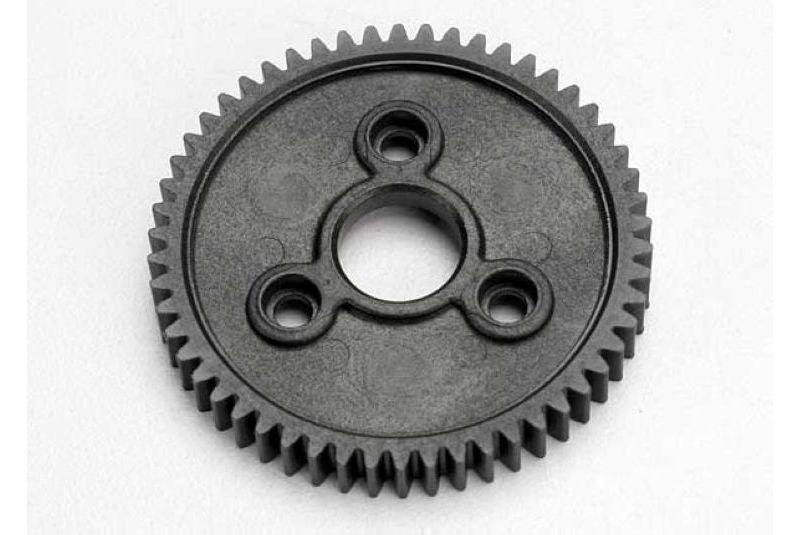 Фото - Запчасти для радиоуправляемых моделей Traxxas TRAXXAS Spur gear, 54-tooth (0.8 metric pitch, compatible with 32-pitch) запчасти для радиоуправляемых моделей traxxas traxxas gear 18 t pinion machined 1 0 metric pitch fits 5mm shaft set screw compatible with steel s