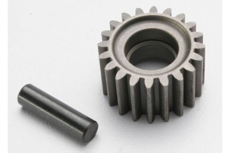 Запчасти для радиоуправляемых моделей Traxxas TRAXXAS Idler gear, 20-tooth: idler gear shaft