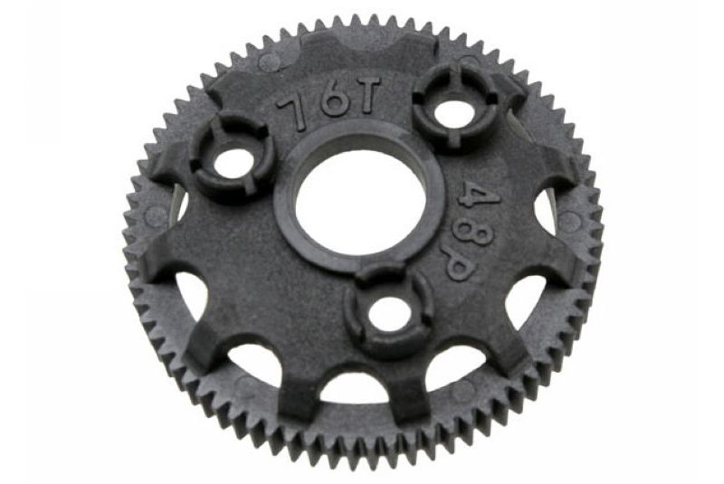 Запчасти для радиоуправляемых моделей Traxxas TRAXXAS Spur gear, 76-tooth (48-pitch) (for models with Torque-Control slipper clutch)